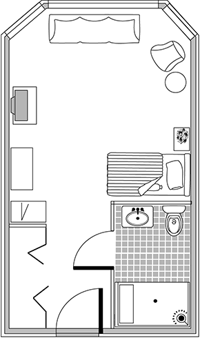 Floor Plan – Memory Care